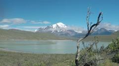 Patagonian Mountain Stock Footage