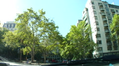 Beunos Aires Traffic - POV Stock Footage