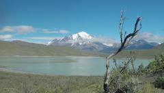 Patagonian Andes Mountain - stock footage