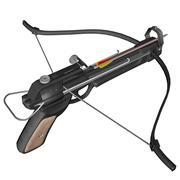 Hand crossbow - 3D render - stock illustration