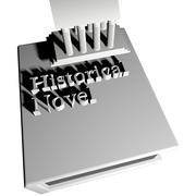 Historical novel Stock Illustration