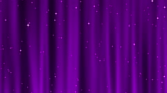 Starry Tapestry Magenta Purple Loop Stock Footage