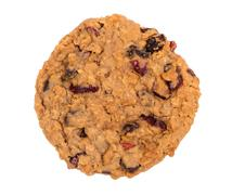 Cranberry oatmeal raisin cookie Stock Photos