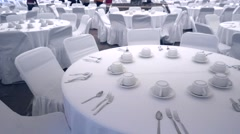 Wedding catering Arkistovideo