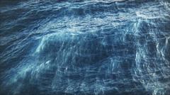 Sea Waves. Water Blue Ocean Ripple - stock footage