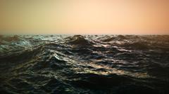 Sea Waves. Water Blue Ocean Ripple Stock Footage