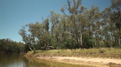 Murray River Australia 16 Stock Footage