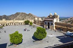 Stock Photo of famous amber fort in jaipur