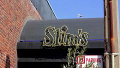 Slim's - San Francisco Stock Footage