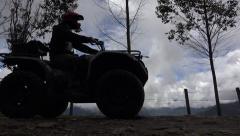 ATV, All Terrain Vehicles, 4x4 Motor Sports, Quads, Dirt Stock Footage