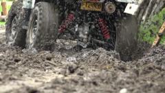 ATV, All Terrain Vehicles, 4x4 Motor Sports, Quads, Dirt - stock footage