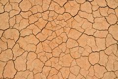 Cracked and dried mud texture Stock Photos