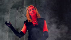 Dancing with devil Stock Footage