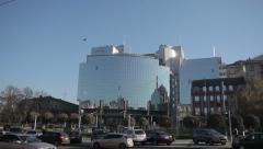 KYIV, UKRAINE . Hyatt Regency Kiev Hotel (234 rooms).Kyiv, Ukraine Stock Footage