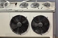 Industrial fans Stock Photos