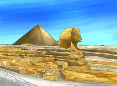 SPHINX Stock Illustration