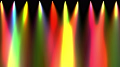 Stage light down abstract 4k Stock Footage