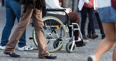 Disability. - stock photo