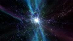 Space Travel, Star Warp 002 - 4K Stock Footage