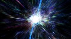 Space Travel, Star Warp 004 - 4K Stock Footage
