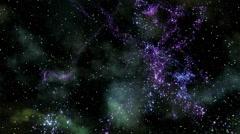 Space Travel, Star Warp 001 - 4K Stock Footage