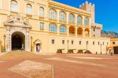 Stock Photo of monaco the prince's palace