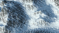 Snowy Mountains  - 4K Resolution Ultra HD Stock Footage