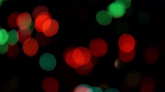 Dance of lights - stock footage