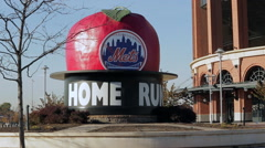 Citi Field home of the New York Mets (3 of 3) Stock Footage