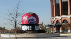 Citi Field home of the New York Mets (1 of 3) Stock Footage