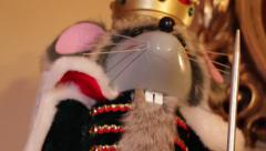 Mouse King Nutcracker - stock footage