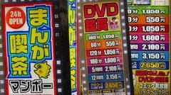 People Walking in Front of Japanese Advertisements -  Tokyo Japan - stock footage