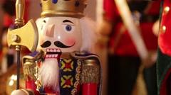 King Nutcracker Stock Footage