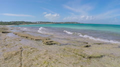 Beach Scenes from Turks and Caicos (5 of 17) Stock Footage