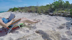 Beach Scenes from Turks and Caicos (10 of 17) Stock Footage