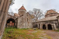 armenian monastery of sanahin - stock photo