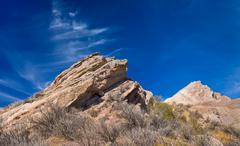 vasquez rocks natural area park - stock photo