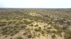 Aerial hyperlapse texas desert Stock Footage