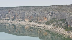 Pecos River video footage Stock Footage
