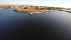 Slidell Louisiana aerial 1080 Stock Footage