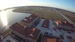 Slidell Louisiana aerial homes  5 Stock Footage