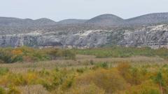 Texas rocky desert 3 video Stock Footage