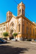 Chiesa dell'immacolata all'esquilino vista da via nino bixio in rome, italy Stock Photos