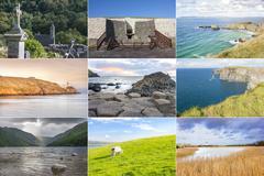 ireland country collage - stock photo