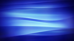 Blue wavy smooth lights loopable background Stock Footage