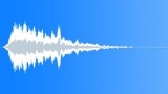 Slow short reso scifi transition - sound effect