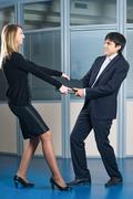Stock Photo of Businessman argue