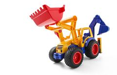 Stock Photo of Toy Earthmover