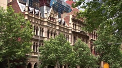 Melbourne Street Stock Footage