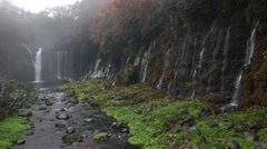 Shiraito Falls Stock Footage